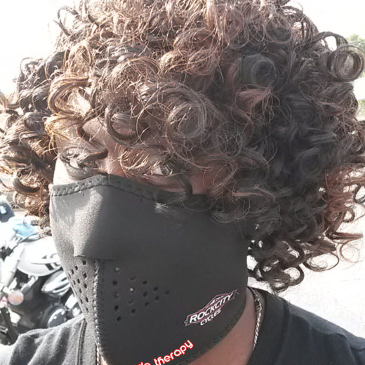 Rock City Cycles Micro-Fleece Lined Neoprene Half Face Mask – Cycle Therapy