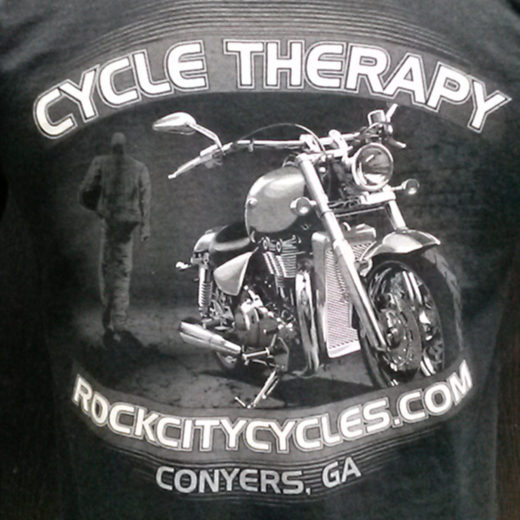 ROCK CITY CYCLES Custom Tee's
