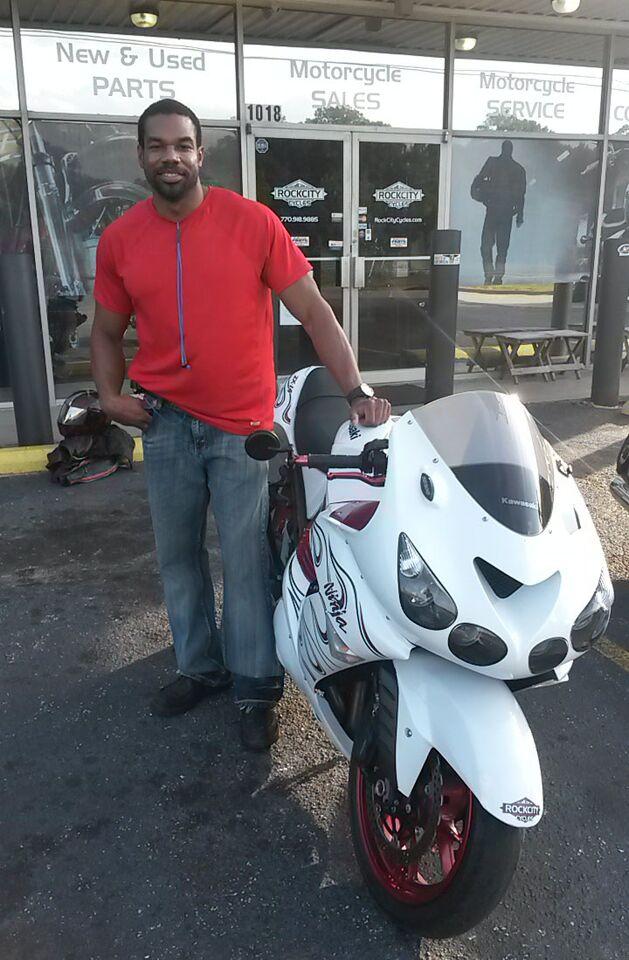 Shaun with 2007 Kawasaki Ninja ZX14