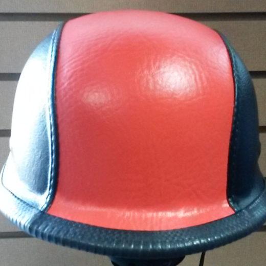 Rock City Cycles Harley-Davidson Orange Custom German Helmet