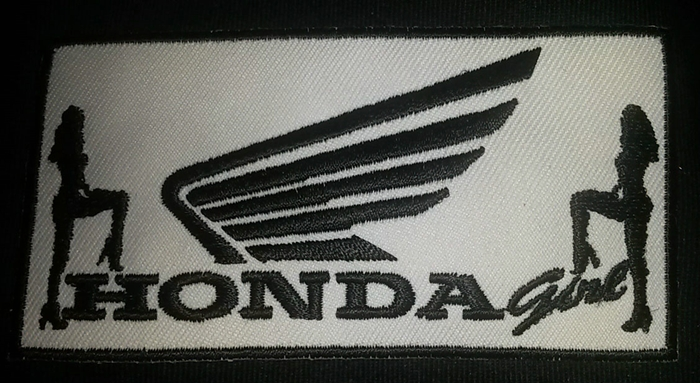 Honda Girl Custom Patch
