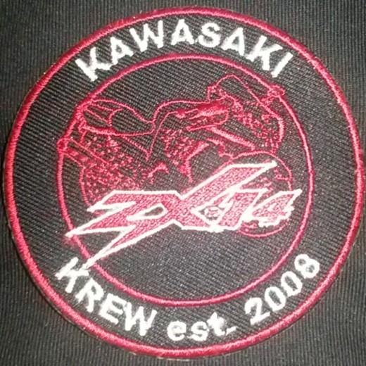 Kawasaki Krew est. 2008 ZX14 Custom Patch