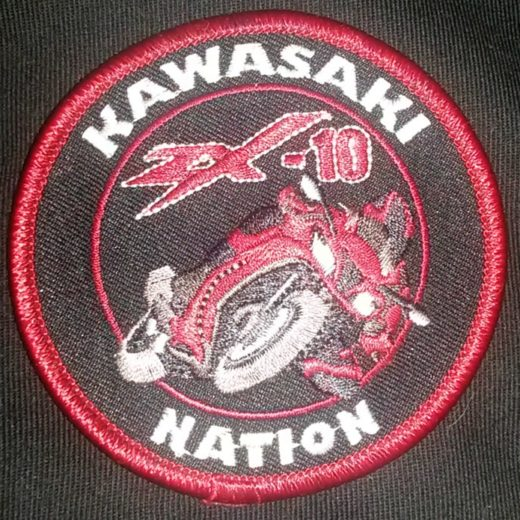 Kawasaki Nation ZX10 Custom Patch