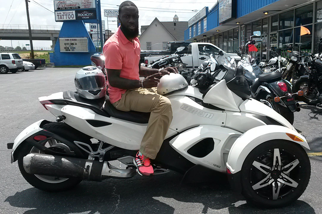 Michael with 2010 Can-Am Spyder