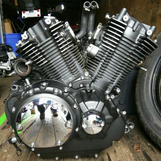 2012 Yamaha Stryker V Star XVS 1300 Engine Motor Transmission