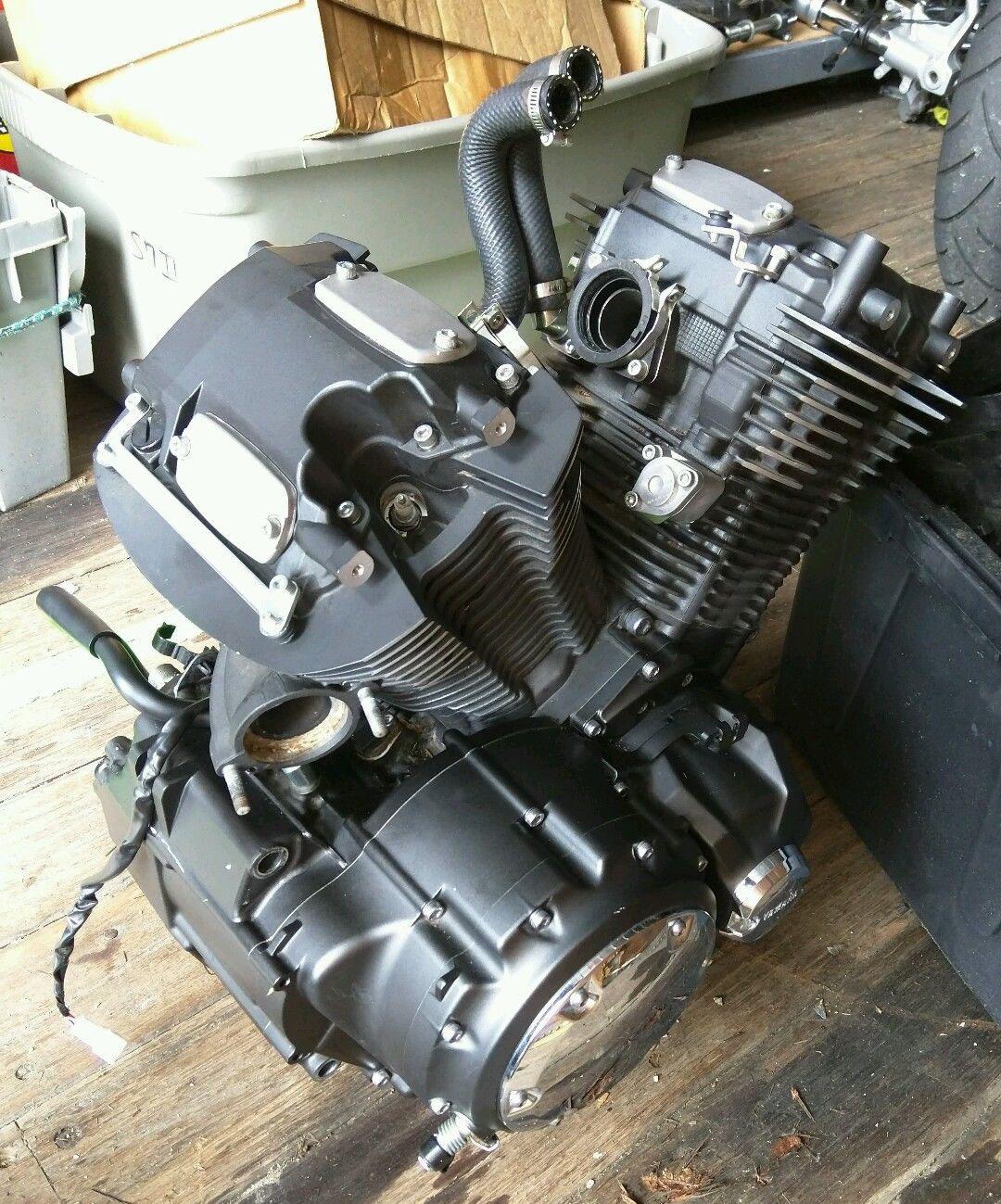 2012 Yamaha Stryker V Star Xvs 1300 Engine Motor