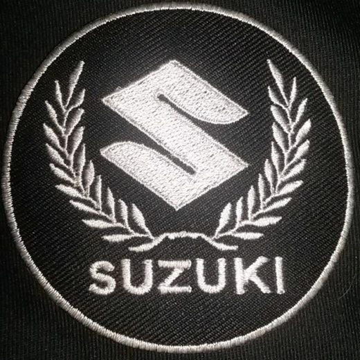Suzuki S Emblem Custom Patch
