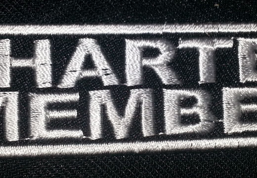 """Charter Member"" patch"