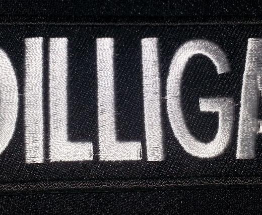 """DILLIGAF"" patch"
