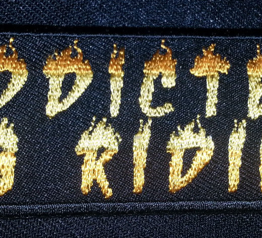 """Addicted To Riding"" patch"