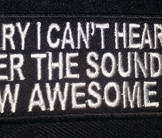 """Sorry I Can't Hear You…"" patch"
