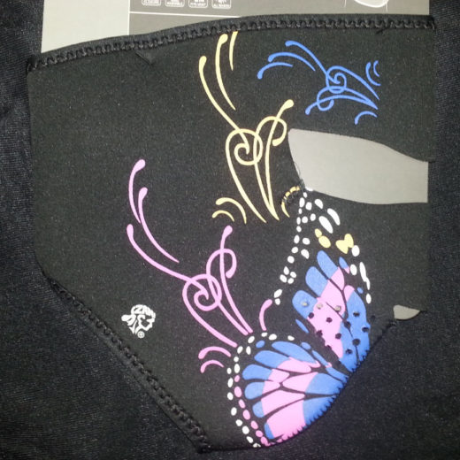Zan Headgear Full Face Neoprene Mask – Butterfly