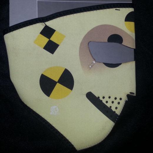 Zan Headgear Full Face Neoprene Mask – Test Dummy