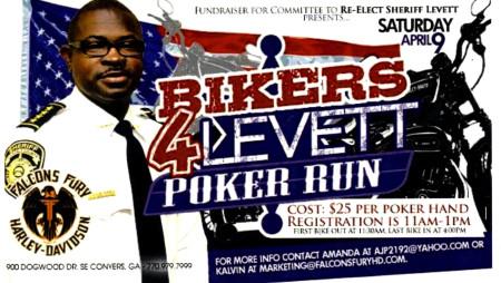 "BIKERS 4 LEVETT ""Poker Run"" – Sat., 4/9/2016"