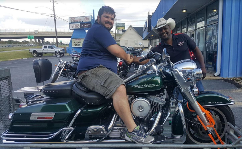 Trey 1997 Harley Davidson Flhr Road King Rock City Cycles