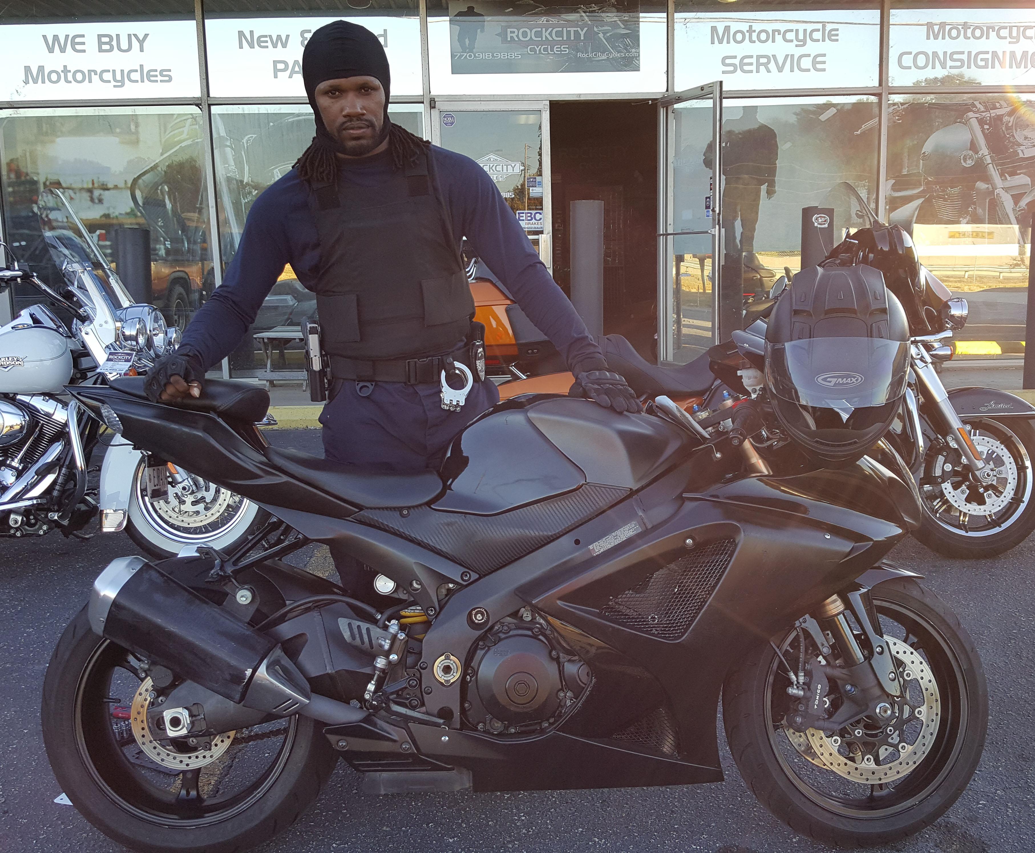 Joseph B. with 2007 Suzuki GSX-R 1000