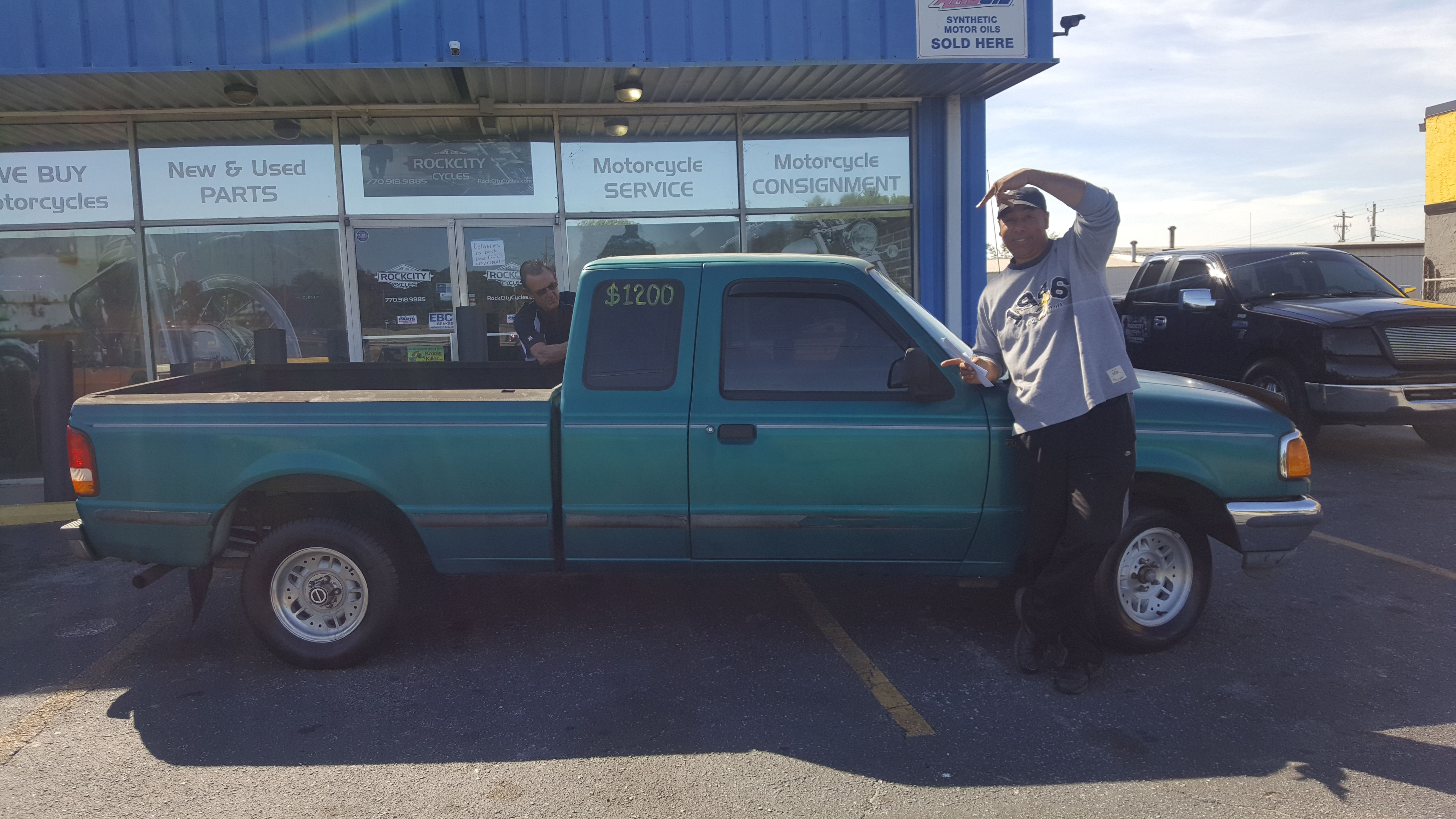 Mark D. with his 1993 Ford Ranger XLT