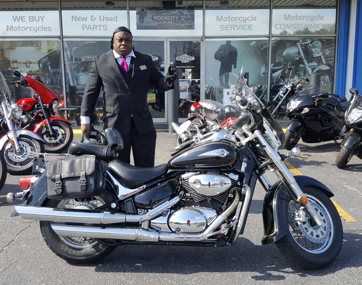 Joshua H. with his 2008 Yamaha YZ250F