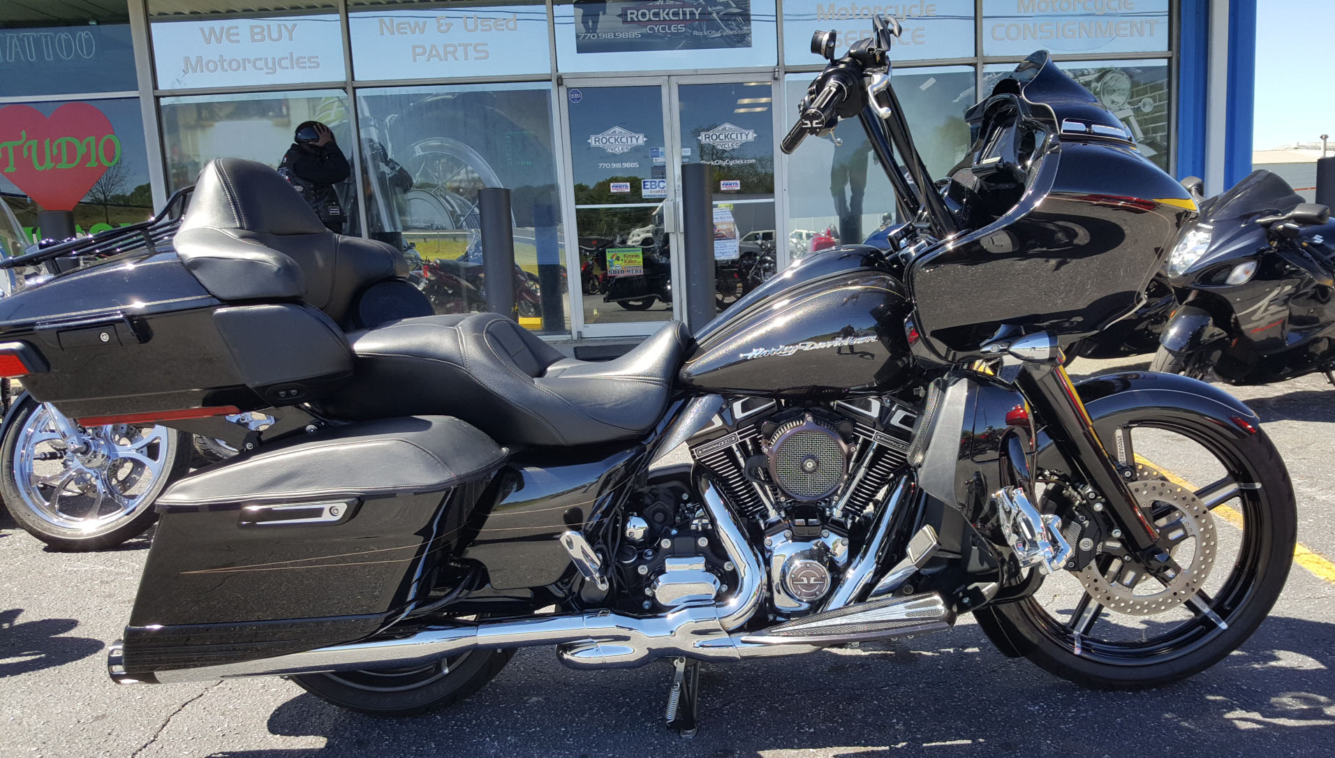 2016 Harley Davidson Road Glide Special Rock City Cycles