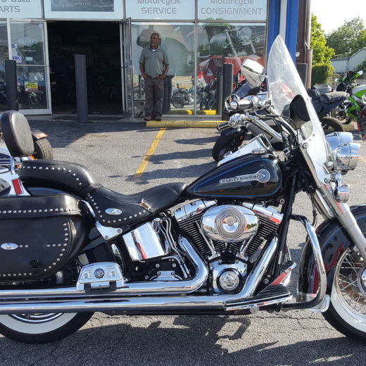 2007 Harley-Davidson FLSTC Heritage Softail Classic Shrine