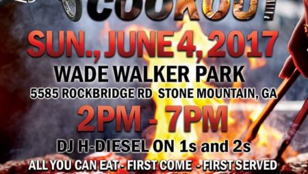 Red & Black Clubs of Atlanta Cookout – 6/4/17