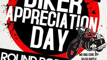 BIKER APPRECIATION DAY/ROUND ROBIN, Sun., 9/17/17