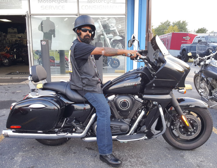 Nelson Q. with his 2014 Kawasaki Vaquero