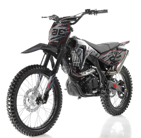 apollo db 36 250cc 5 speed dirt bike rock city cycles
