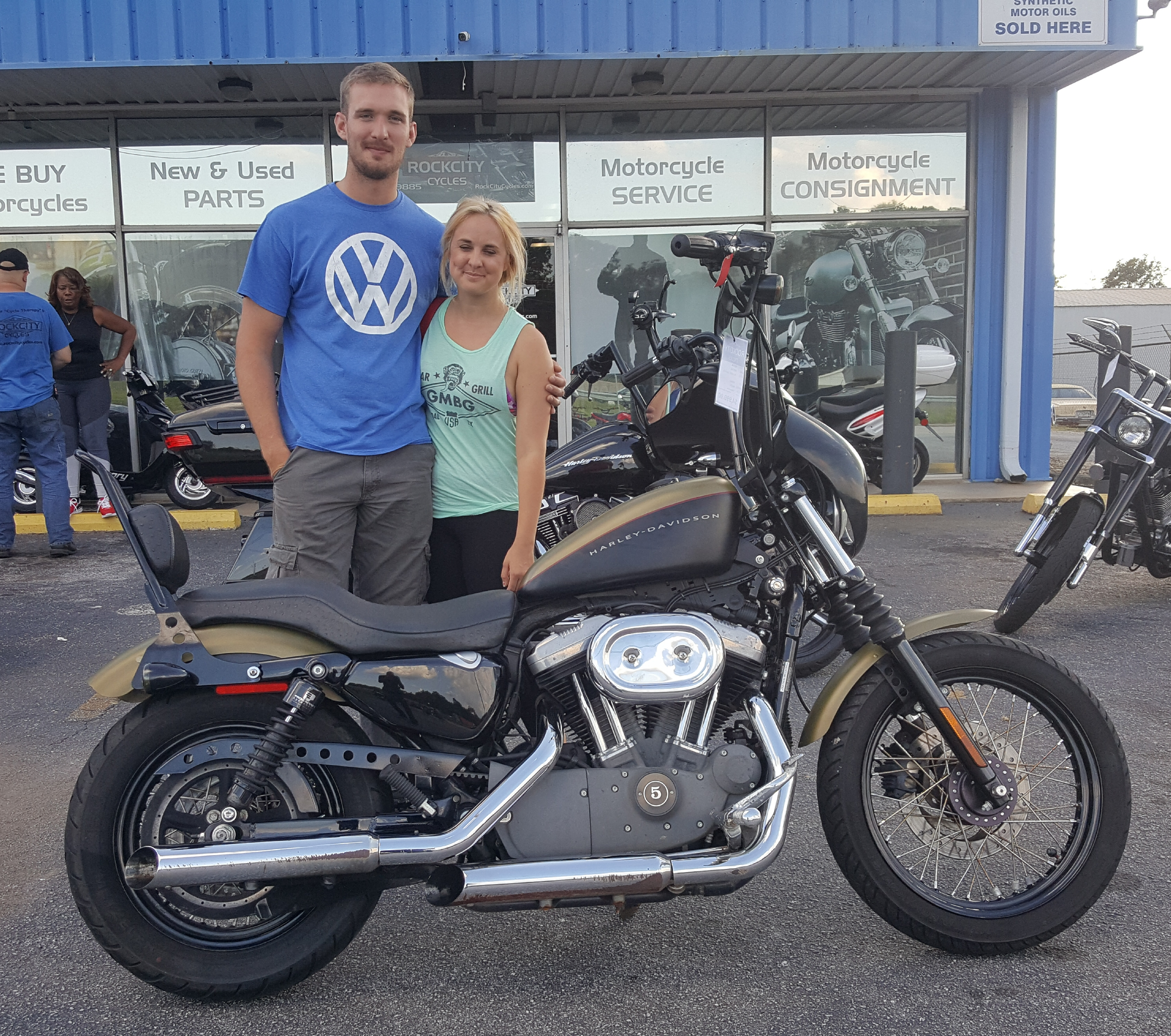 Jacob C. with 2007 Harley-Davidson XL1200N Sportster