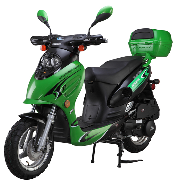 Gator E Green on 2 Stroke 50cc Scooter Parts
