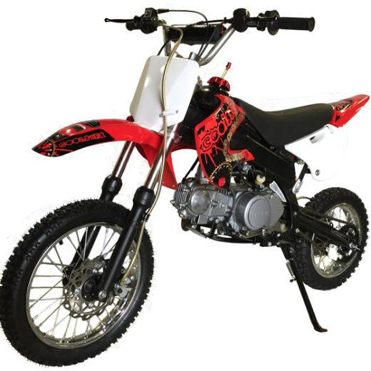 QG 214-FC 125cc Dirt Bike