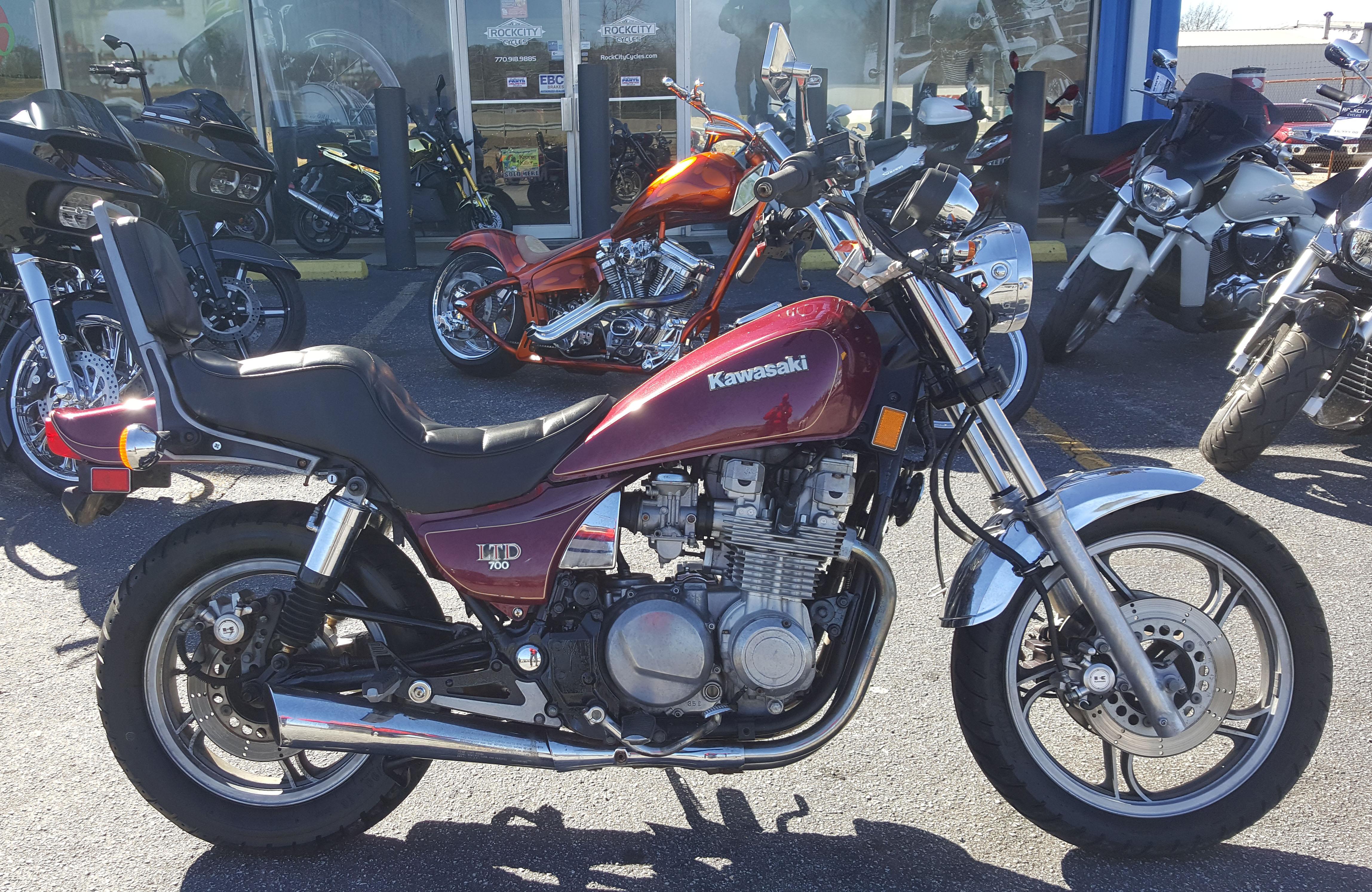 1985 Kawasaki ZN700A2 Ltd – Rock City Cycles