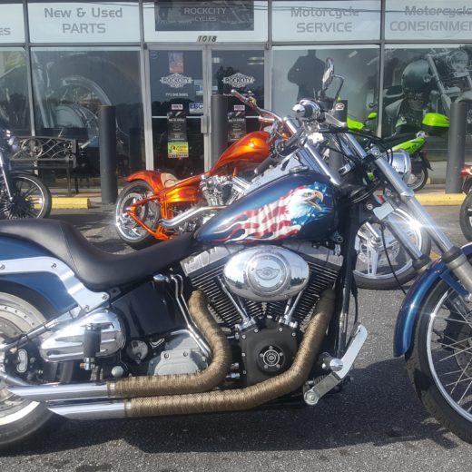 2003 Harley-Davidson FXST Softail