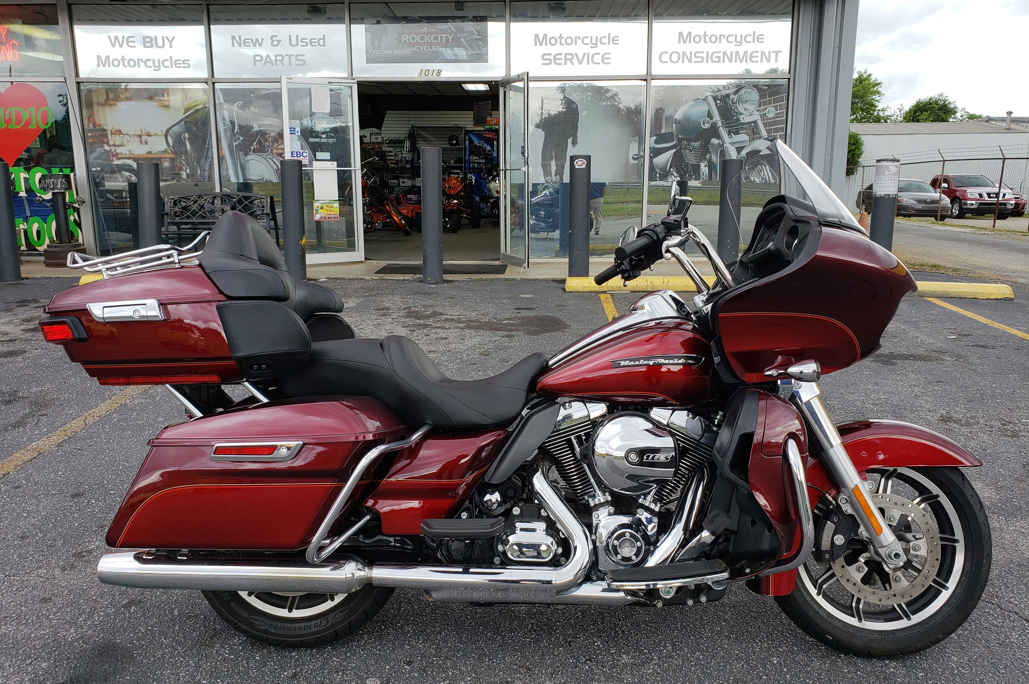 2016 Harley Davidson Fltru Road Glide Ultra