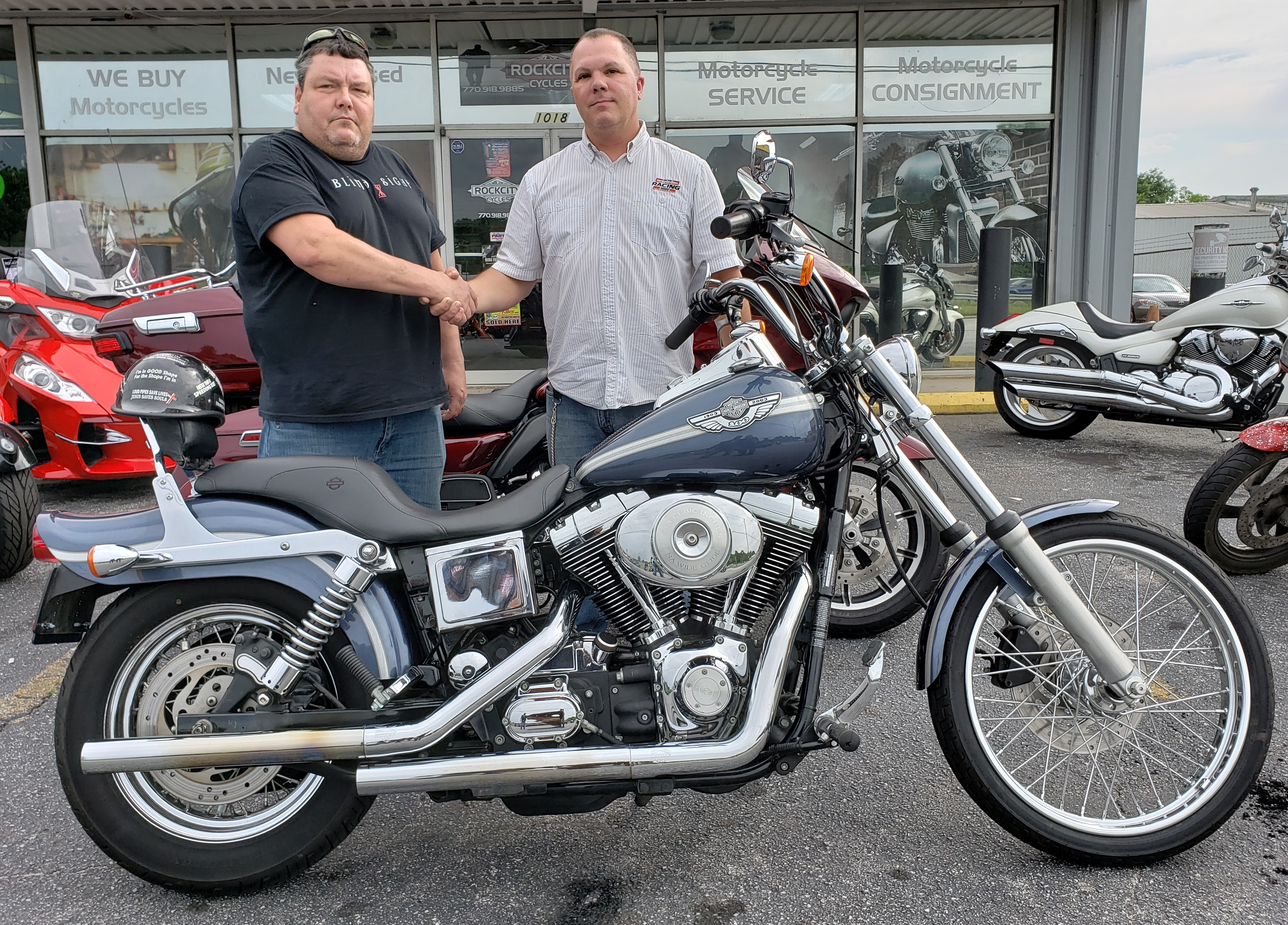Edgar C. with 2003 Harley-Davidson FXDWG Dyna Wide Glide