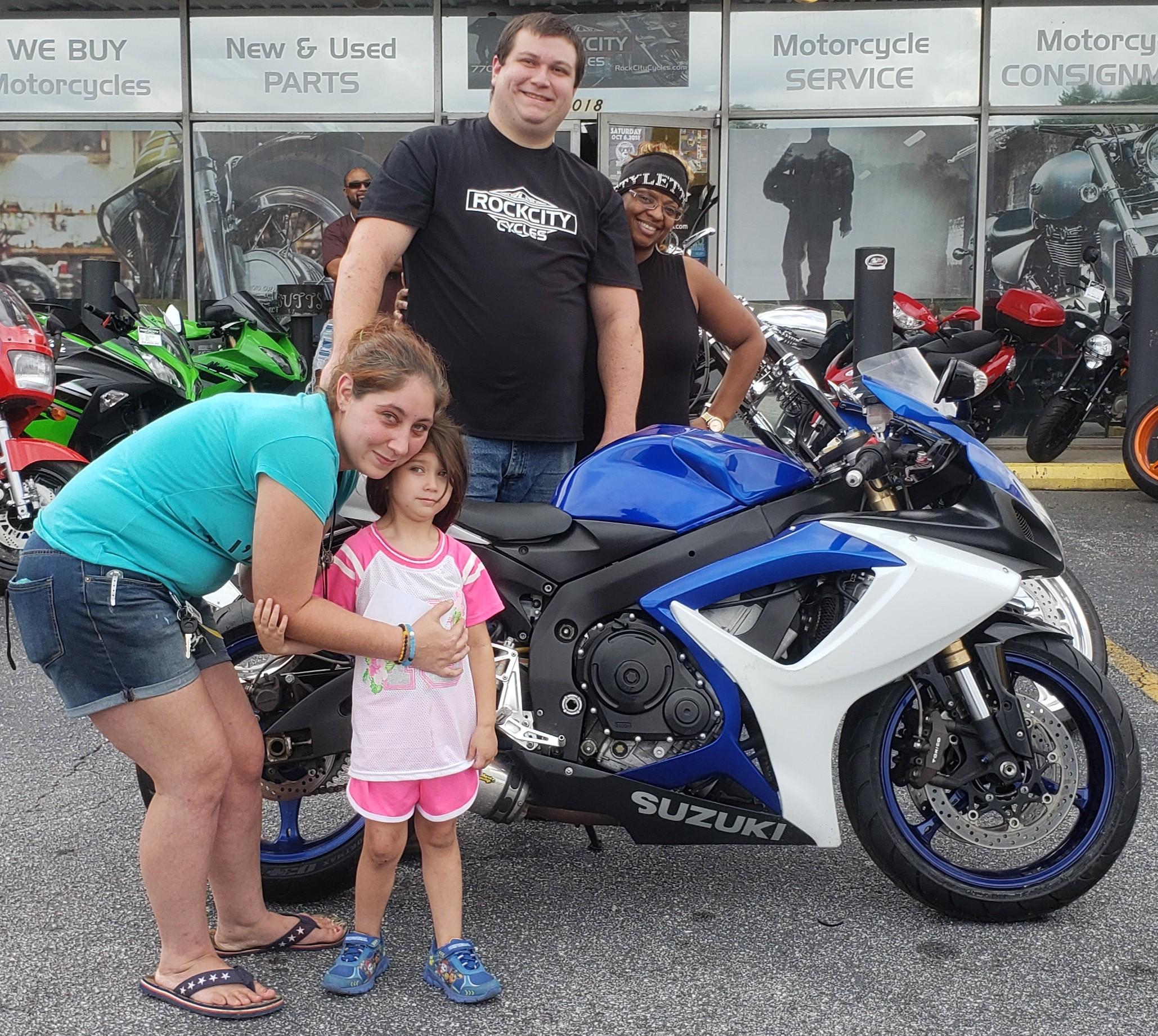 Curtis S. with his 2007 Suzuki GSX-R600